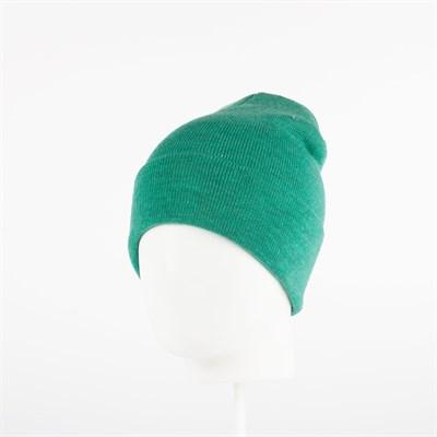 Шапка TRUESPIN Plain Cuffed Beanie (Зеленый (Heather Mint))