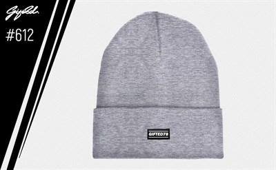 """Шапка """"GIFTED"""" knitfleece17/612 светло-серый"""