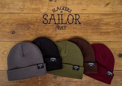 Шапка SLACKERS sailor hat. Бордовая