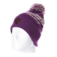 Шапка ЗАПОРОЖЕЦ Logo Beanies (Фиолетовый (Purple))