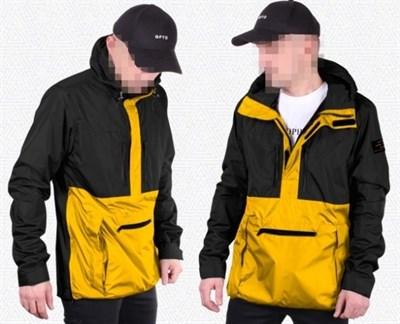 """Куртка """"GIFTED"""" SS18/129 черно-желтый"""