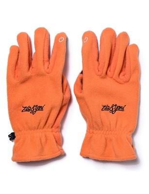 Перчатки ZIQ&YONI LOGO AW17 оранжевые