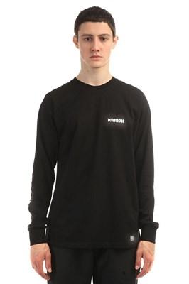 Юнион Лонгслив Gothic, цвет черный, 100% хлопок