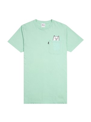 RIPNDIP Футболка Lord Nermal Pocket Tee Over Dyed Mint