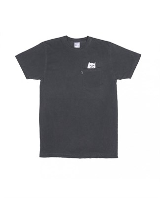 RIPNDIP Футболка Lord Nermal Pocket Tee Over Dyed Black