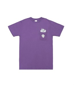 RIPNDIP Футболка Stuffed Tee Purple