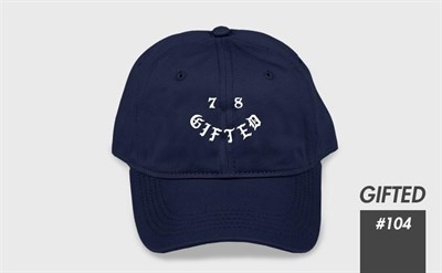 """Бейсболка """"GIFTED"""" SS17/104 синий"""