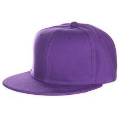 Бейсболка TRUESPIN Acrylic Blank Snapback (Purple, O/S)