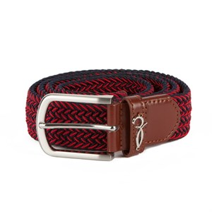 Ремень ЗАПОРОЖЕЦ Classic Elastic Belt (Синий (Navy/Red), 125 см)