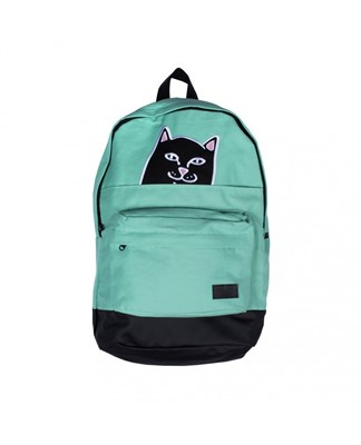 RIPNDIP Рюкзак Lord Nermal Backpack green/black