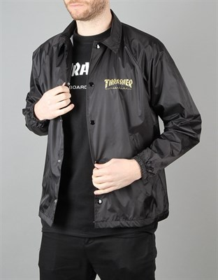Куртка THRASHER PENTAGRAM COACH JACKET black