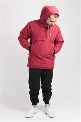 Куртка-Анорак зимняя Chrome 3 Красный Винтаж Микрофибра