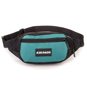Поясная сумка AIR PACK  черный\зеленый (Размер: OS )