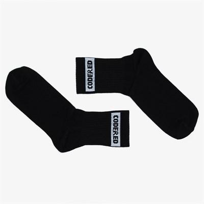 Носки средней длины Boxlogo Sock Черный/Белое Лого