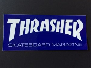 Наклейка THRASHER маленькая