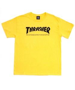 Thrasher Футболка SKATE MAG S/S YELLOW