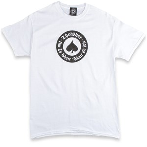 Футболка THRASHER Oath white