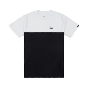 Vans футболка VA3CZDYB2 MN  WHITE-BLACK