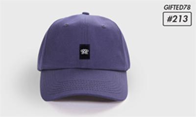 """Бейсболка """"GIFTED"""" dads cap SS18/213 синий"""