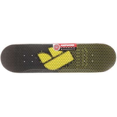 Дека Footwork CARBON FORMULA (Gold, Размер 8.125 x 31.625 )