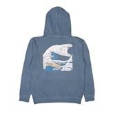 Толстовка RIPNDIP Great Wave Of Nerm Pullover Sweater baby blue - фото 10272