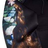 Толстовка RIPNDIP Bouquet Pullover Sweater black - фото 10287