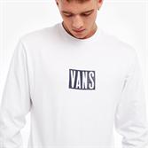 VANS Лонгслив VA3W55WHT MN TALL VANS LS White - фото 11438