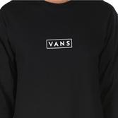 VANS Лонгслив VA3HWHY28 MN VANS EASY BOX LS Black/White - фото 11486