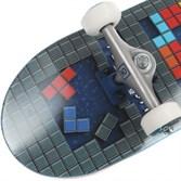 """Комплект Скейт """"Tetris"""" 7,6x31,25 Medium, Колёса 53mm/101a Подвески 129, Подшипники ABEC 7 - фото 12876"""
