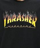 Thrasher футболка BBQ  S/S BLACK - фото 13843