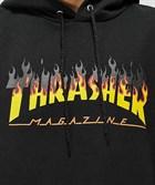 Thrasher толстовка BBQ HOOD BLACK - фото 13853