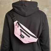 Сумка поясная Lockit M розовая 00152 - фото 15106
