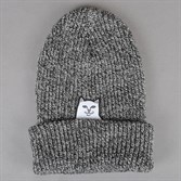 RIPNDIP Шапка Lord Nermal Knit Beanie Gray Speckled - фото 6603