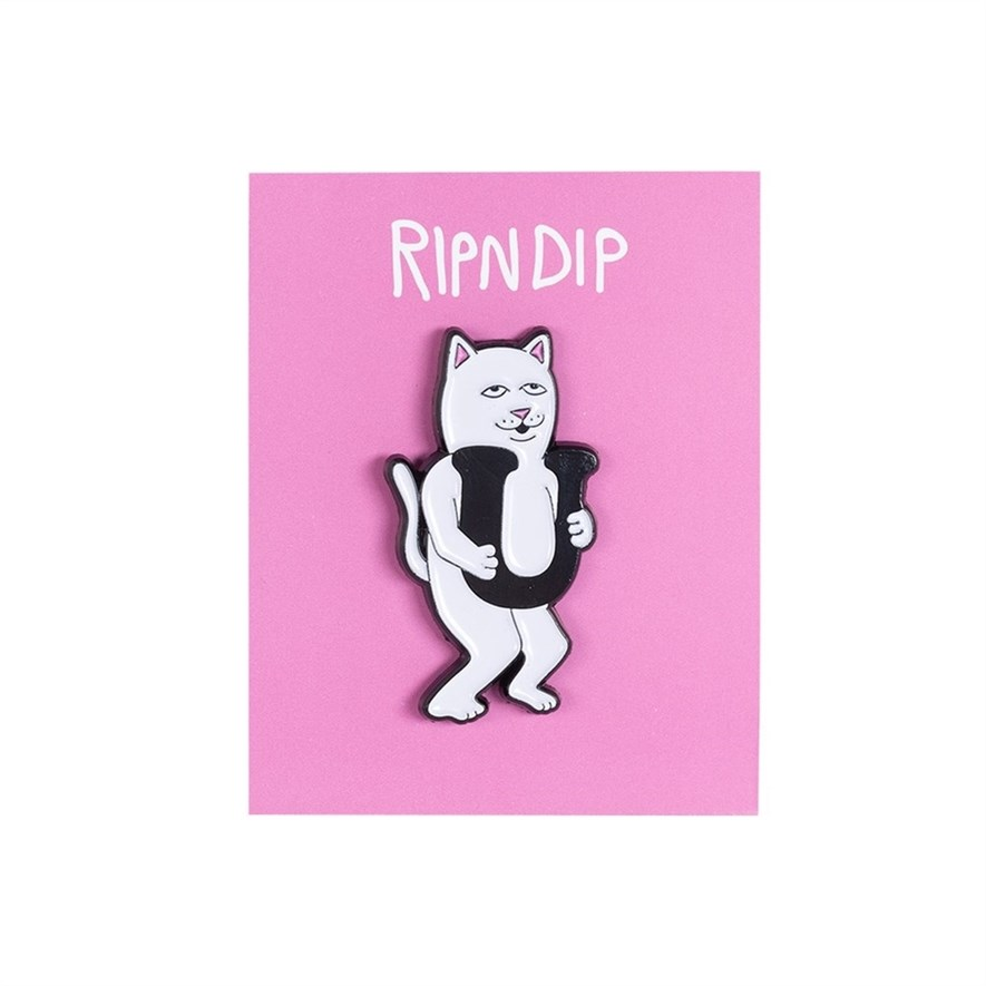 Значок Ripndip Fuck Everything Pin - фото 16000