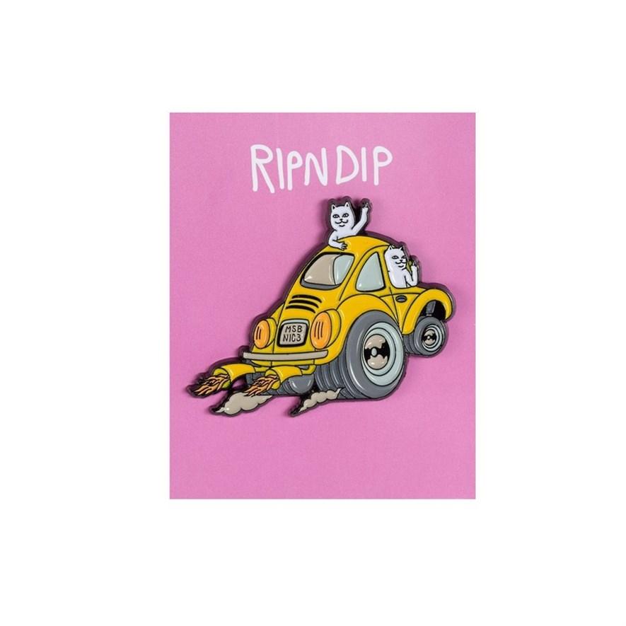 Значок Ripndip Buggy Nerm Pin - фото 16004