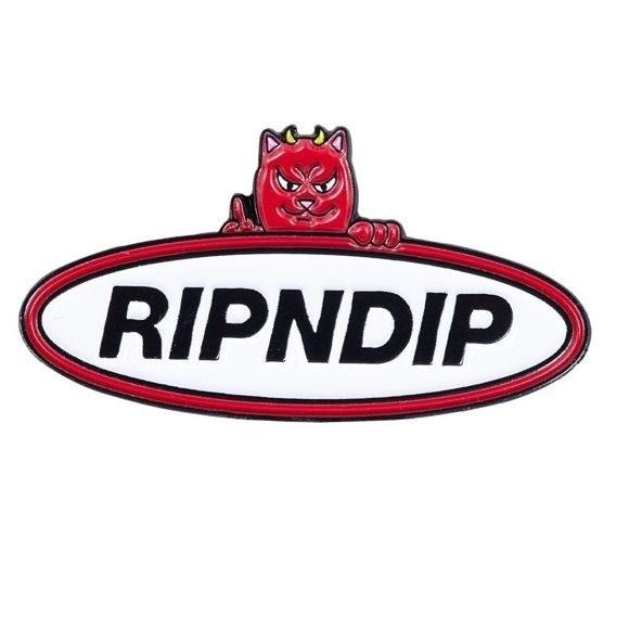 Пин Ripndip Welcome To Heck Pin - фото 18847