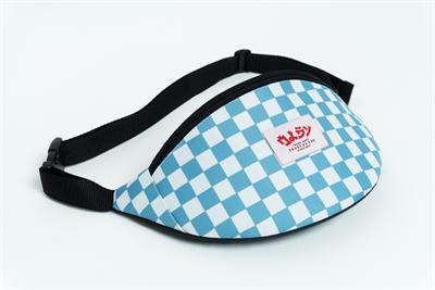 Oldy поясная сумка checkers blue/white