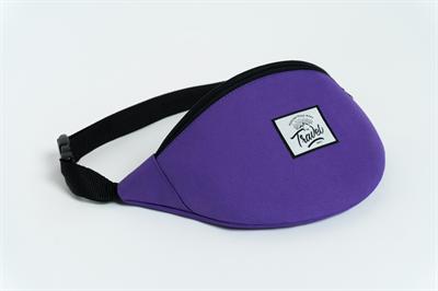 Travel поясная сумка logo cream violet
