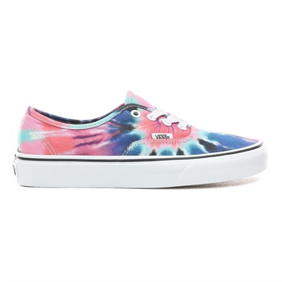 Vans Кеды UA Authentic (tie dye) multi/true white VA38EMVKI