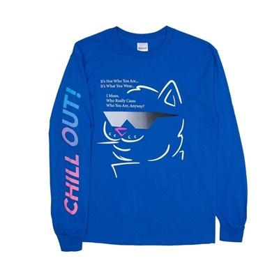 RIPNDIP Лонгслив Chill Out L/S Royal Blue