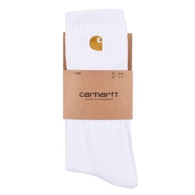 Carhartt Носки Chase Socks WHITE / GOLD