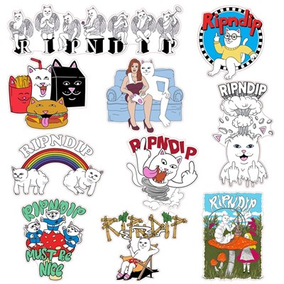 Наклейки Ripndip Fall 19 Sticker Pack
