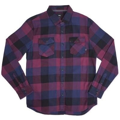Vans рубашка MN BOX FLANNEL  PRUNE/DRESS