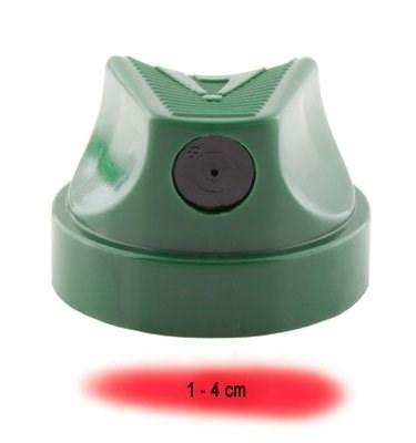 cap Level 3 темно-зеленый с черной вставкой 1-4 см