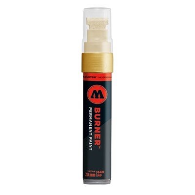 Molotow Маркер BURNER Paint 640PP 640499 золото 20 мм
