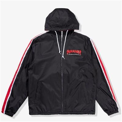 Thrasher куртка GODZILLA TRACK JACKET BLACK
