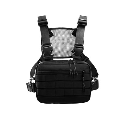Нагрудная сумка ТАЙНА таслан черная