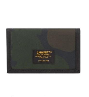 Carhartt WIP Бумажник Ashton Wallet CAMO LAUREL