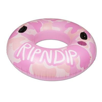 Надувной круг Ripndip Toob Pool Float Pink Camo