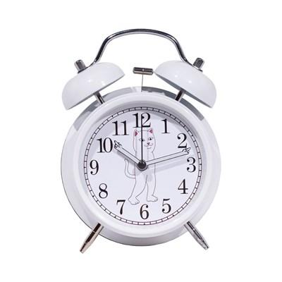 Будильник Ripndip Fucking Late Custom Alarm Clock White